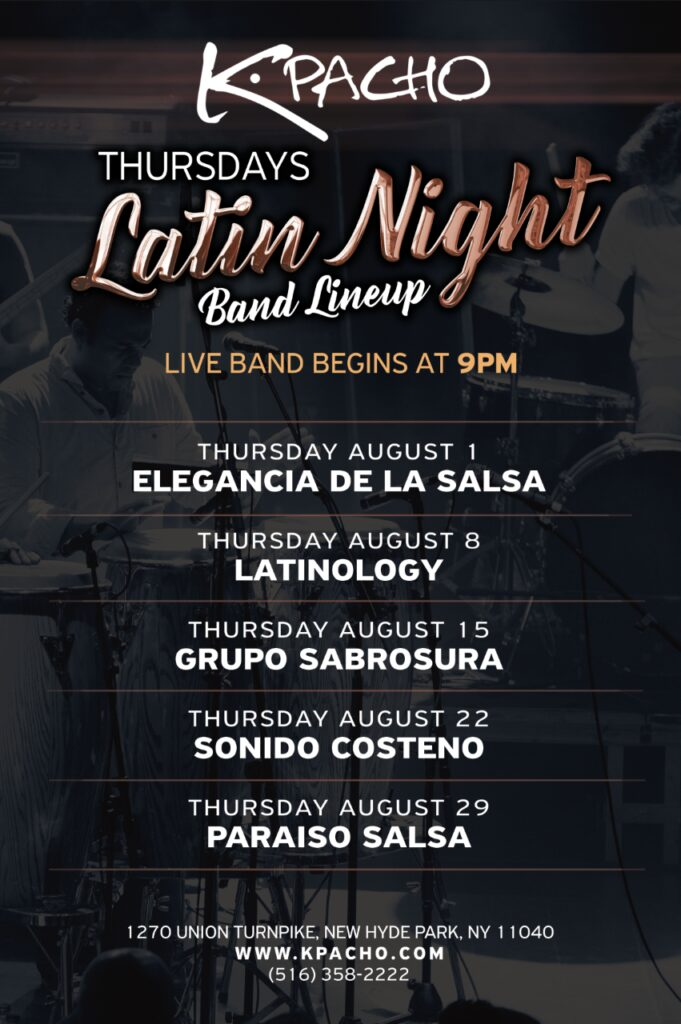 Long Island latin night